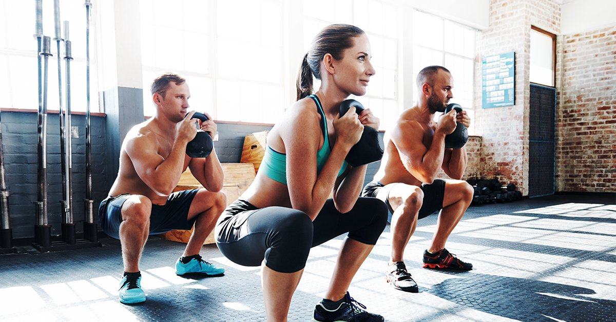 At-Home Workout Up Downs Exercise