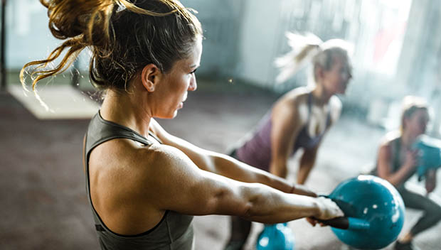 At-Home Workout The Kettlebell Mile Exercise
